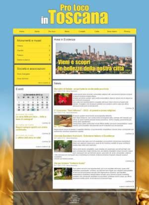 sito web proloco template