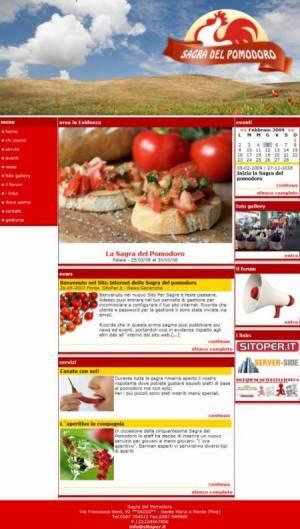sito web sagre feste paesane template