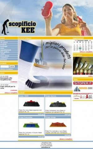 sito web scopificio template