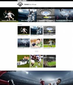 sito web squadra calcio template 10086