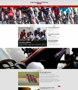 sito web squadra ciclismo template 10065