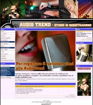 sito web studio registrazione template