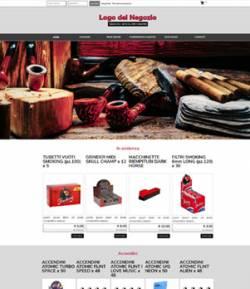 sito web tabacchi articoli fumatori ecommerce template 10057