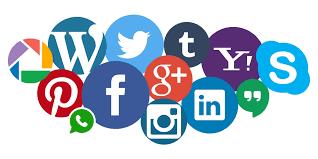 social media e sito web