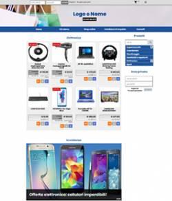 sito web per supermercato