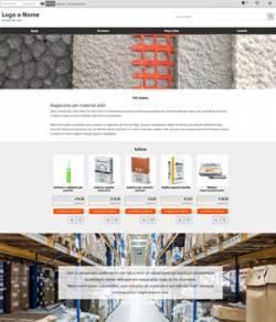 sito web magazzino materiali edili