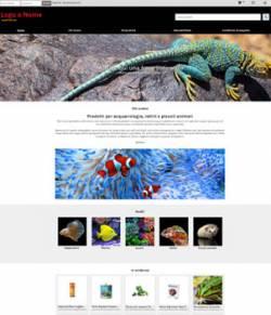 sito web negozio animali esotici